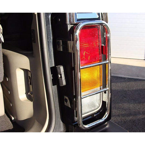 Stainless Steel Tail Light Guards for Hummer H2