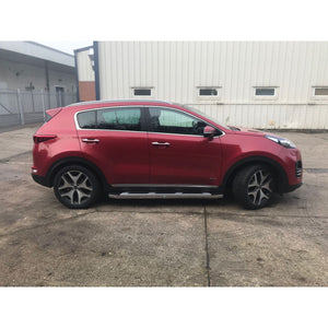Suburban Side Steps Running Boards for Kia Sportage 2016-2018