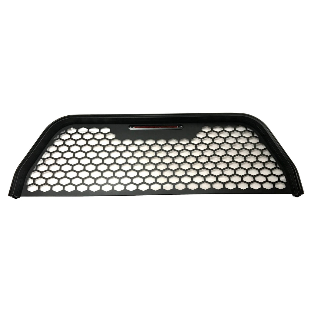 Black Aluminium Mesh Ladder Rack Window Guard for Nissan Navara NP300 2015+