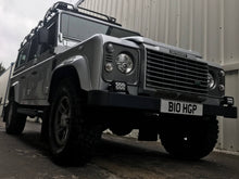 OE 'Fire and Ice' Style Tubular Side Steps for the Land Rover Defender 110 2003 onwards