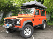 OE 'Fire and Ice' Style Tubular Side Steps for the Land Rover Defender 90 2003 onwards