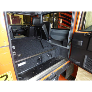 Fixed Carpet Top Single Drawer System for Land Rover Defender