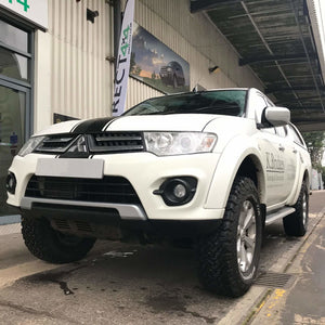 Premier Side Steps Running Boards for Mitsubishi L200 Double Cab 2005-2015