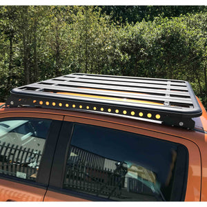 AluMod Low Profile 135cm x 125cm Roof Rack Nissan Navara NP300 2015+