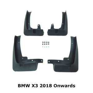OE Style Mud Flaps Splash Guards for BMW X3 G01 2018+