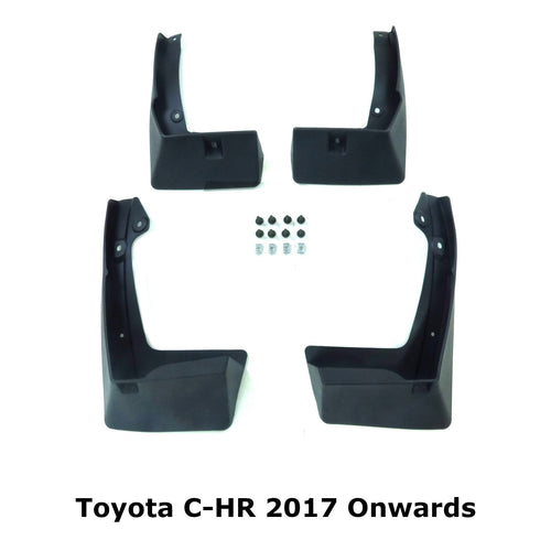 OE Style Mud Flaps Splash Guards for Toyota CH-R 2017+