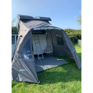 Granite Grey Annex Room Addon for Direct4x4 Pathseeker Roof Top Tent
