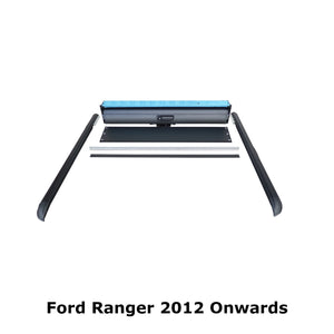 Roll & Lock Style Load Bed Tonneau Cover Ford Ranger 2012+ [Rollbar Compatible]