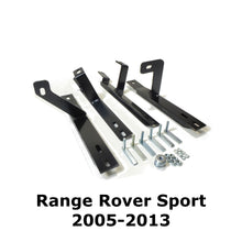 Black Raptor Side Steps Running Boards for Range Rover Sport 2005-2013