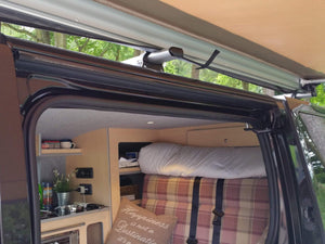 Expedition Pull-out 2.5mx2m Granite Grey Vehicle Side Awning with 1 Side