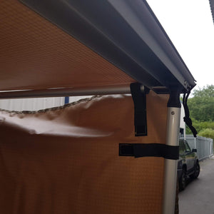 Expedition Pull-out 2mx2m Sand Yellow Vehicle Side Awning
