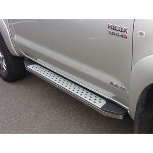 Freedom Side Steps Running Boards for Toyota Hilux Double Cab 2005-2012