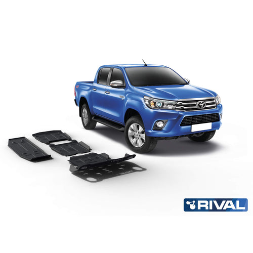 RIVAL4x4 Toyota Hilux Underbody Skid Plates