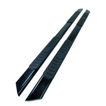Black Sonar Side Steps Running Boards for Fiat Fullback Double Cab 2015+