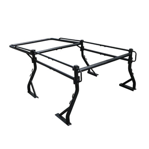 Universal Load Bed Cargo Over-Cab Roof Rack for Pickup Trucks