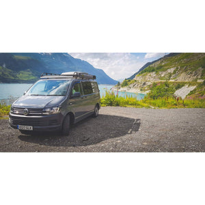 Expedition Pull-out 1.4mx2m Forest Green Vehicle Side Awning with 2 Sides