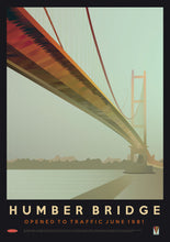 Humber Bridge - Opened to Traffic in 1981