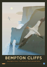 Bempton Cliffs Vintage - Known for its Breeding Seabirds