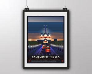 Saltburn by the Sea - Britain's Oldest Water Balanced Funicular Lift