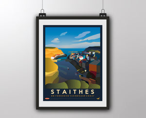 Staithes Vintage - On Yorkshire's Dinosaur Coast
