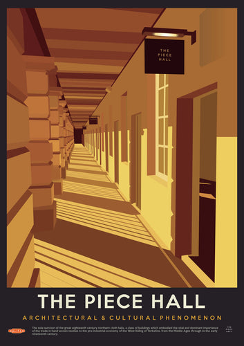 Piece Hall Vintage Style Print Travel