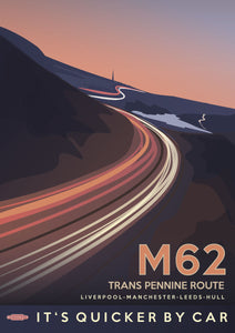 M62 Vintage - Trans Pennine Route - Liverpool Manchester Leeds Hull