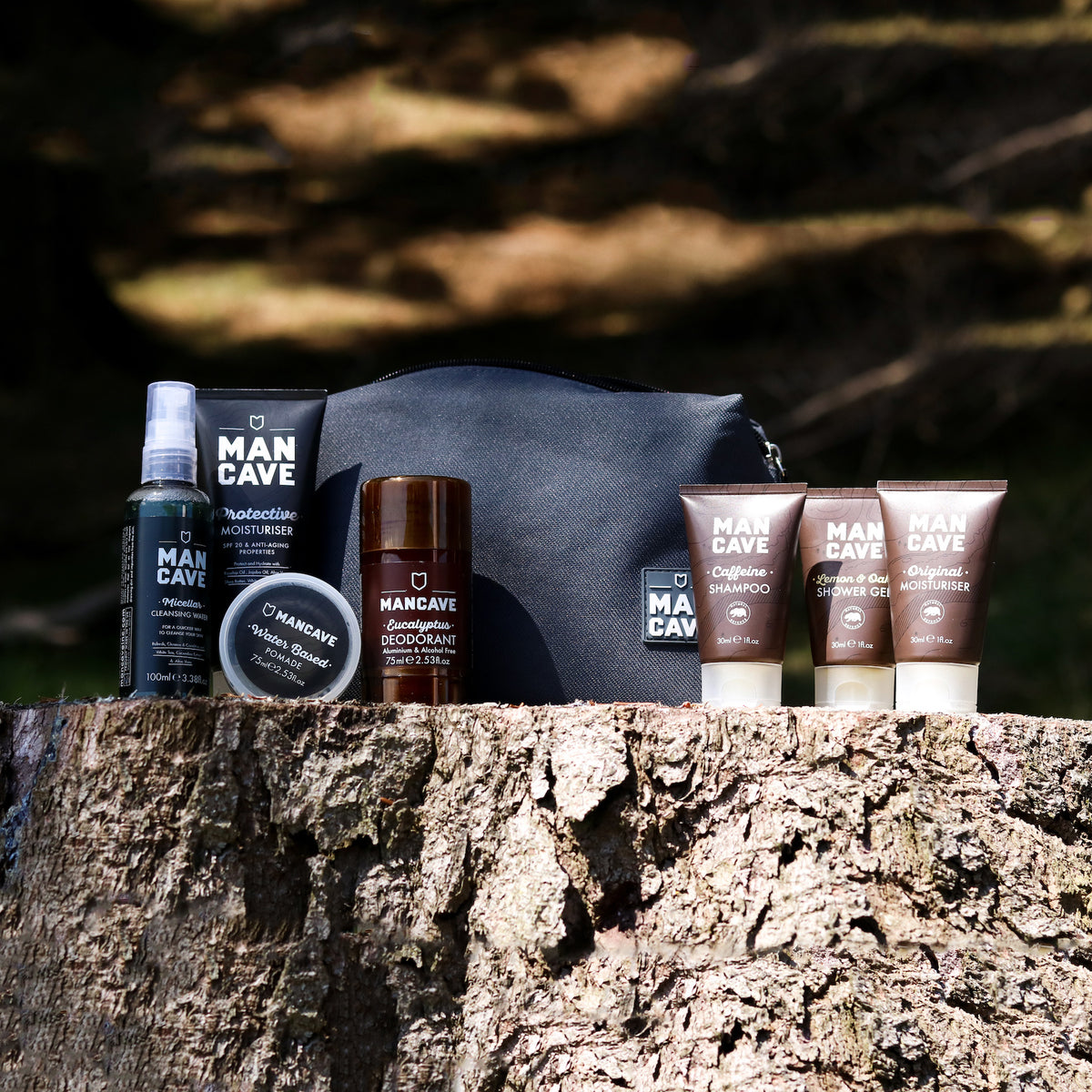 ManCave Grooming Gear - Naturally Derived Formulas For Men