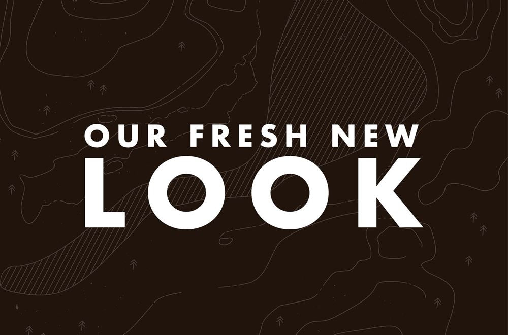 A title image 'Our fresh new look'