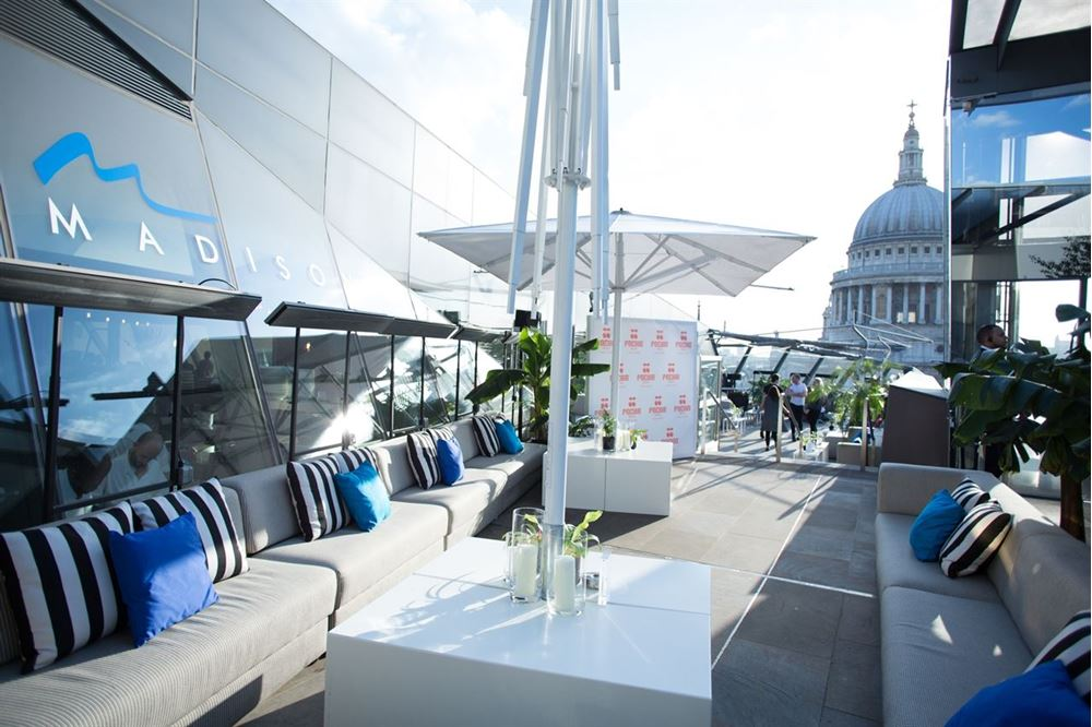 An image of the Madison Rooftop Terrace