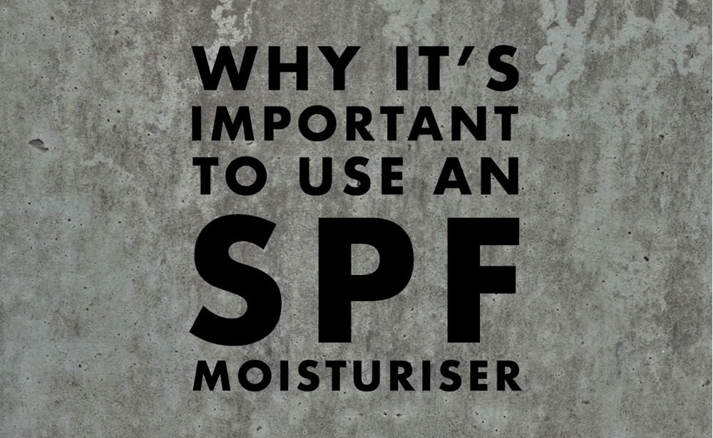 Title image 'Why it's important to use an SPF moisturiser'