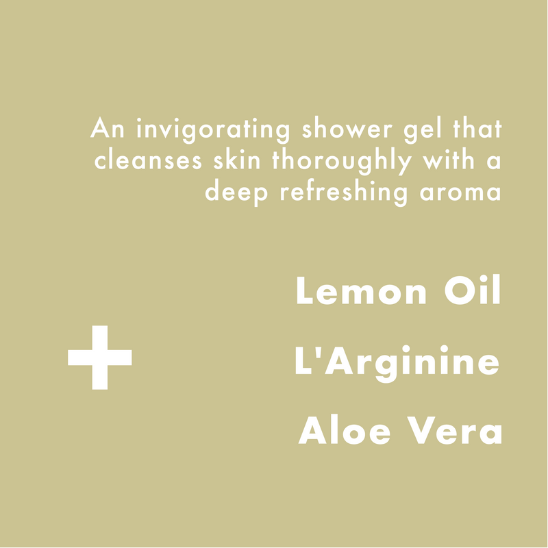 Lemon & Oak Shower Gel 500ml