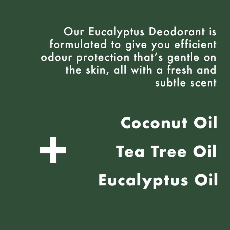 NEW Eucalyptus Deodorant 75ml