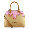 Pink Sprinkle Bowler Bag
