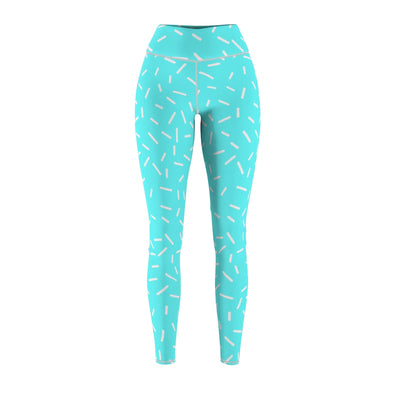 Teal Cut & Sew Sport Leggings