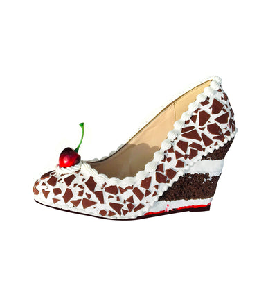 Black Forest Cake Wedges 2.5""