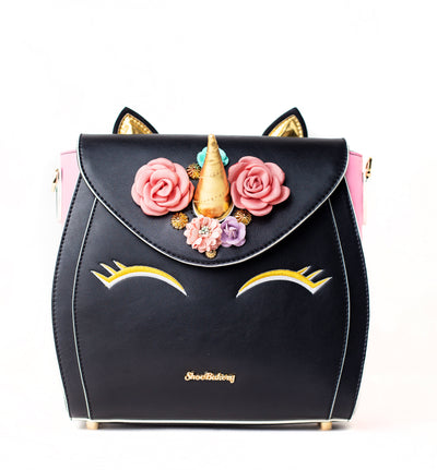 Pre-Order *Limited Edition* Black Unicorn Cake Bag