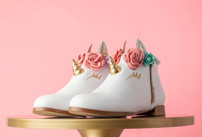 Unicorn Cake Booties Kids