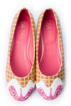 Pink Syrup Ice Cream Flats