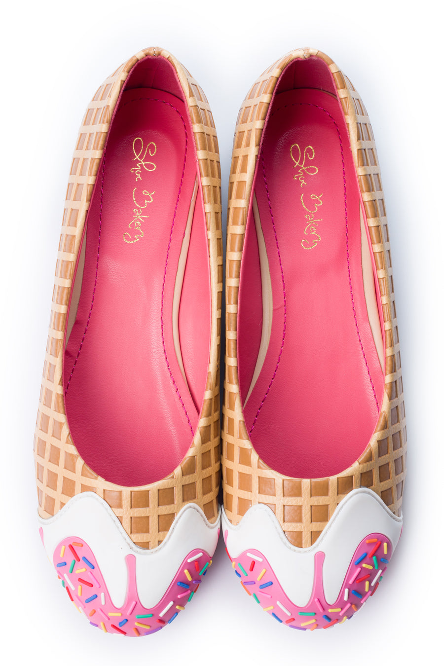 245c0cd77d Pink Syrup Ice Cream Flats