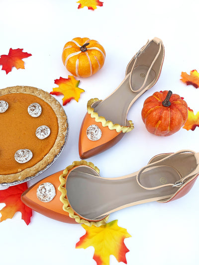 Limited Edition Pumpkin Pie Flats