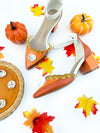 Limited Edition Pumpkin Pie 2.5'' Heels
