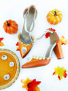 Limited Edition Pumpkin Pie 4'' Heels