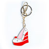 Red Velvet Wedge Keychain