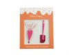 Pink Spatula and Piping Bag Sticker