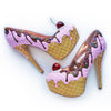 Premium Strawberry Ice Cream Heels