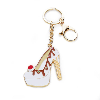 Ice Cream Heel Keychain