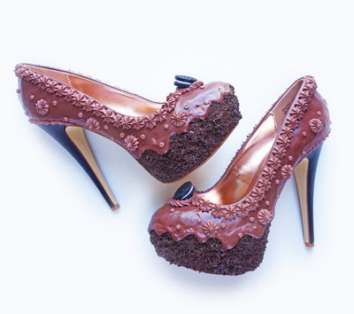 Triple Chocolate Cake Heels