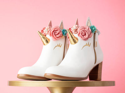 Unicorn Cake Booties