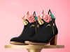 Black Unicorn Cake Booties