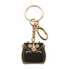 Black Unicorn Cake Bag Keychain